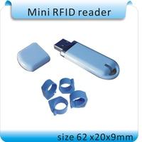 Free Shipping ISO11785 84 U Disky Style 125 134 2KHZ FDX B Animal Management Label Reader