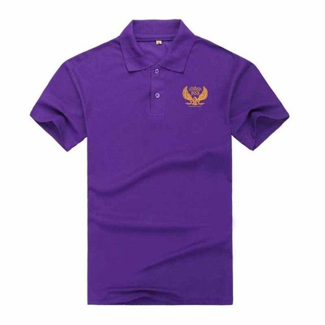 HOWL LOFTY Polo Shirt Men Camisa Polos Masculina De Marca Sergio K Cotton  Men s Casual Business Short-Sleeved White Black Polo 856affa7203