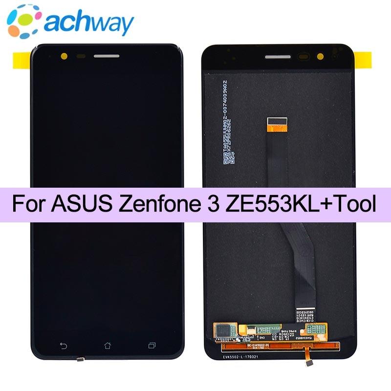 "AMOLED 5.5 ""เดิมสำหรับ ASUS Zenfone 3 Zoom ZE553KL LCD Touch Screen Digitizer สำหรับ ASUS Zenfone3 ซูม S ไม่มีพิกเซลตาย-ใน จอ LCD โทรศัพท์มือถือ จาก โทรศัพท์มือถือและการสื่อสารระยะไกล บน AliExpress - 11.11_สิบเอ็ด สิบเอ็ดวันคนโสด 1"