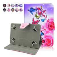 Kefo For Aoson M721 Universal 7 Inch Tablet Case For Kids Cute Flip Stand Protective Cover
