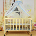 New Summer Baby Bed Mosquito Mesh Dome Curtain Net for Toddler Crib Cot Canopy Hot Selling wholesale JR011