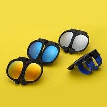 2017 Nuevo Diseño de gafas de Sol Polarizadas para Las Mujeres y Los Hombres Plegables UV400 gafas de Sol Unisex Lente HD Gafas Conveniente Espejo Gafas