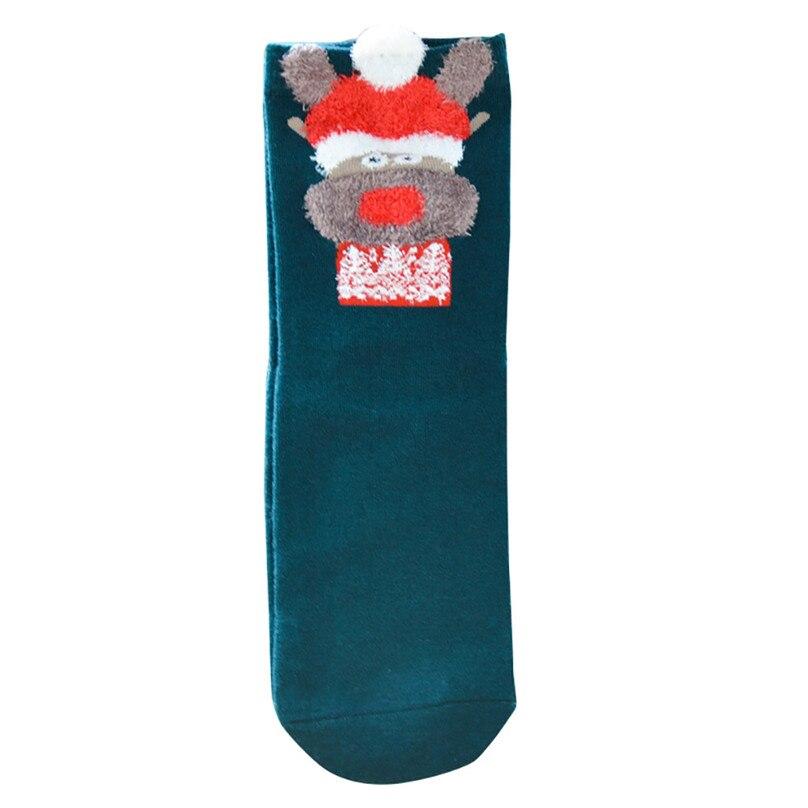 Christmas Women Girl Casual Socks Cotton Women Warm Socks Printing Cute Casual Socks For Christmas Gift Wholesale 30OT15 (7)