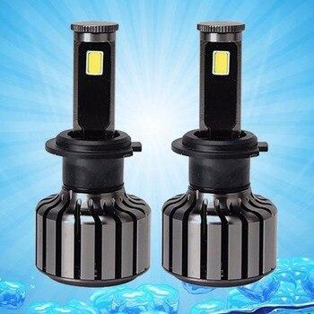 2x H1 H4 H7 H8 H11 80w 8000lm beacon of automobile lamp led wireless conversion kit bulb drive  6000k car light replacement