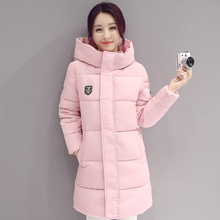 2019 new fashion down coat women winter jacket long sections