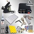 Free shipping  Beginner Tattoo Kit Set Power Supply needles   MGT-18GD