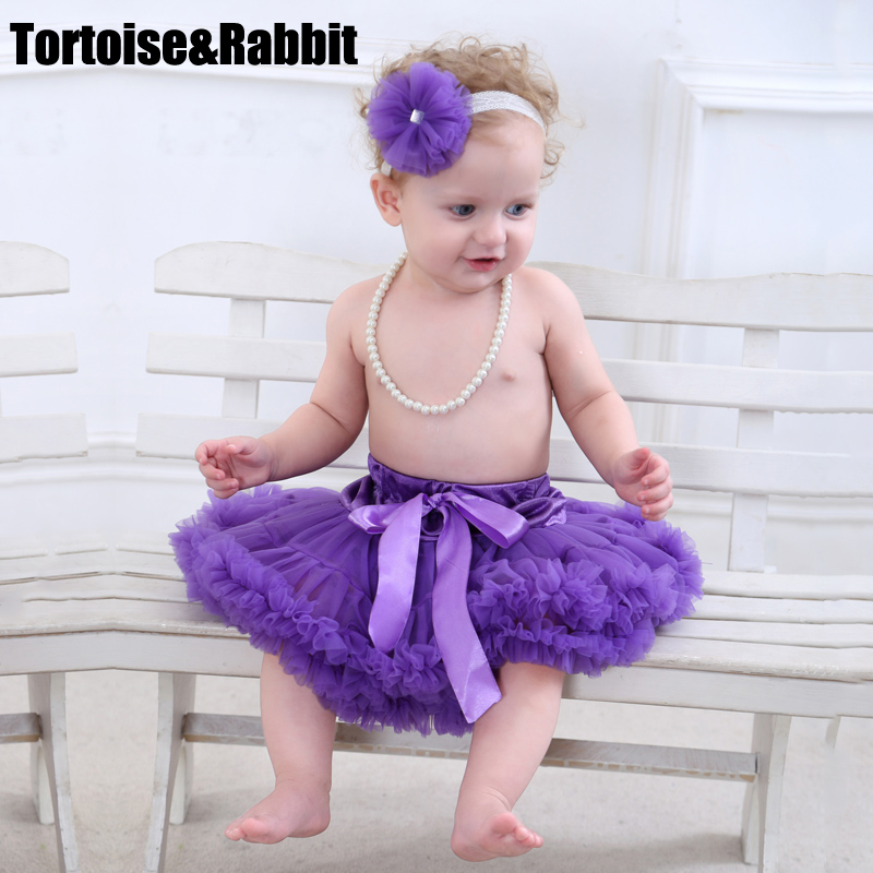 Baby infant girl tutu pettiskirt photography fluffy skirt toddler newborn princess christmas skirt for girls 0-2 Ys baby gift