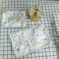 Phnom Penh ceramic marble jewelry plate jewelry wedding display stand
