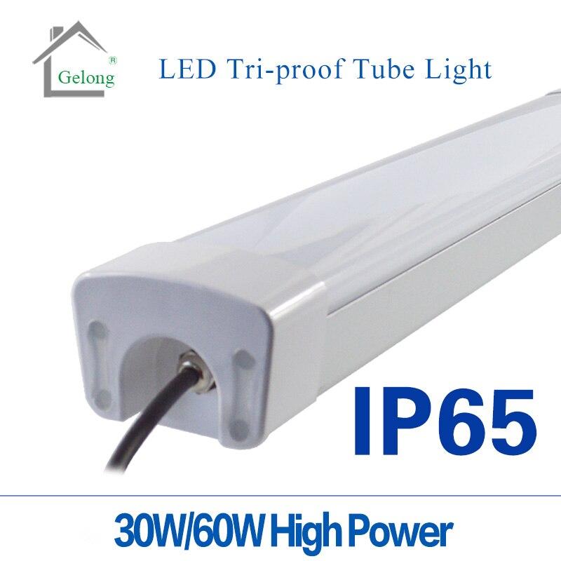 10Pcs alot Tri-proof Tube Light 30W Tri-proof Tube Light  IP 65 2ft Tri-proof Tube Light aqua lung tri light pro