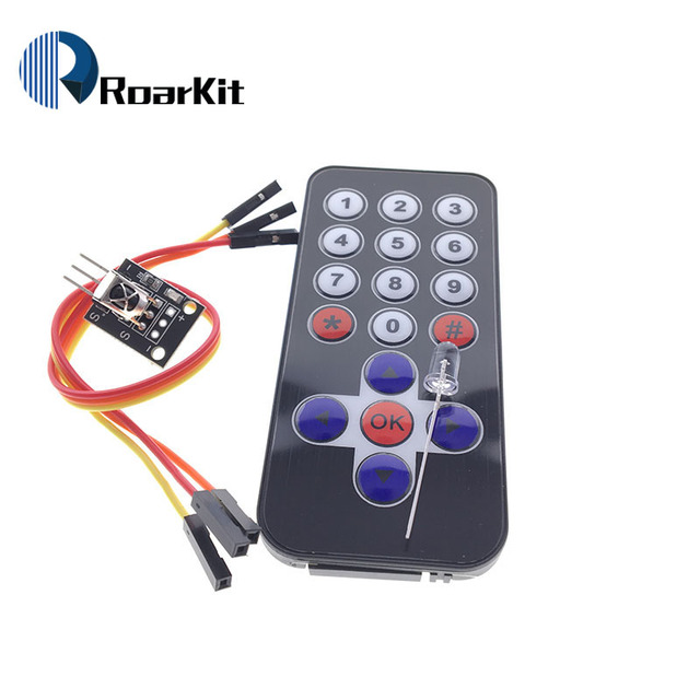 US $0 55 |New Infrared IR Wireless Remote Control Module Kits HX1838 For  Arduino Raspberry Pi Wholesale-in Integrated Circuits from Electronic
