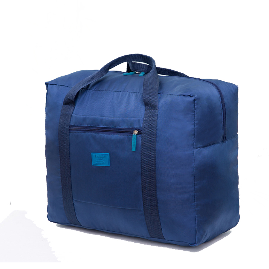 Portable Folding Big Capacity Nylon Travel Clothing Storage Bag Organizer Pouch Suitcase Suitcase Accessories Supplies