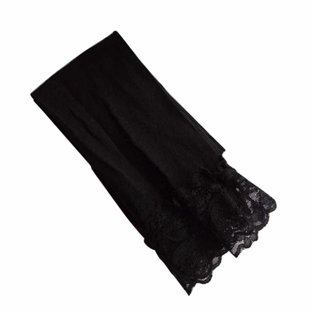 Năm 2019 thời trang Trẻ Em Gái Chân Mùa Hè Kéo Dài Chân Váy Ren Skinny Capris Quần Màu Kẹo bán W508