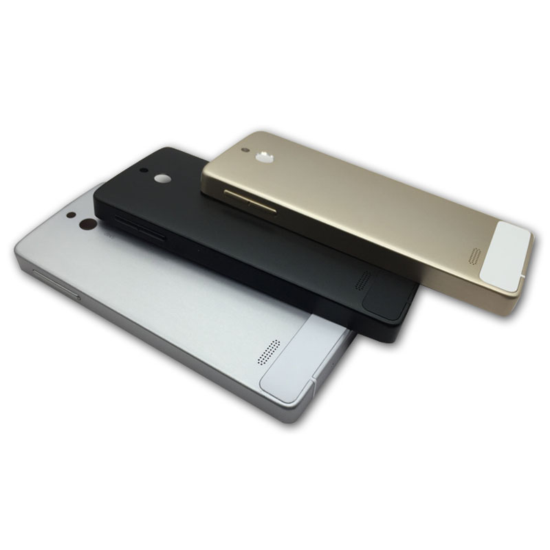 New Metal Battery Back Cover Door For Nokia Lumia 515 Rear Housing Case With Power Volume Buttons