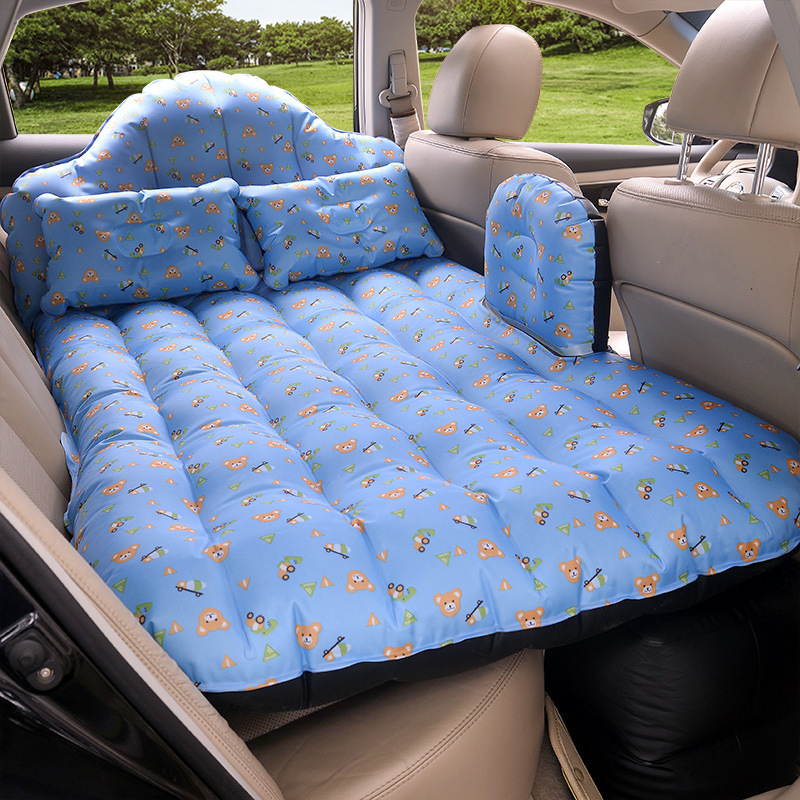 Dual Car Inflatable Mattress Shock Oxford Bed Outdoor Travel Cushion