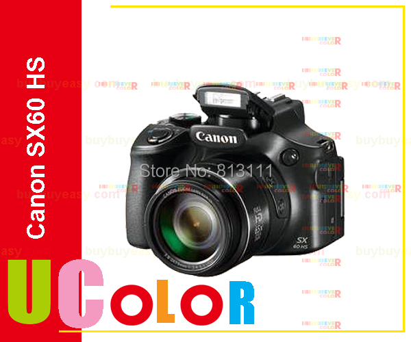 Original New Canon PowerShot SX60 HS Digital Camera SX60HS 65x Optical Zoom 16.1 MP  new optical zoom lens ccd repair part for canon powershot sx530 hs pc2157 digital camera