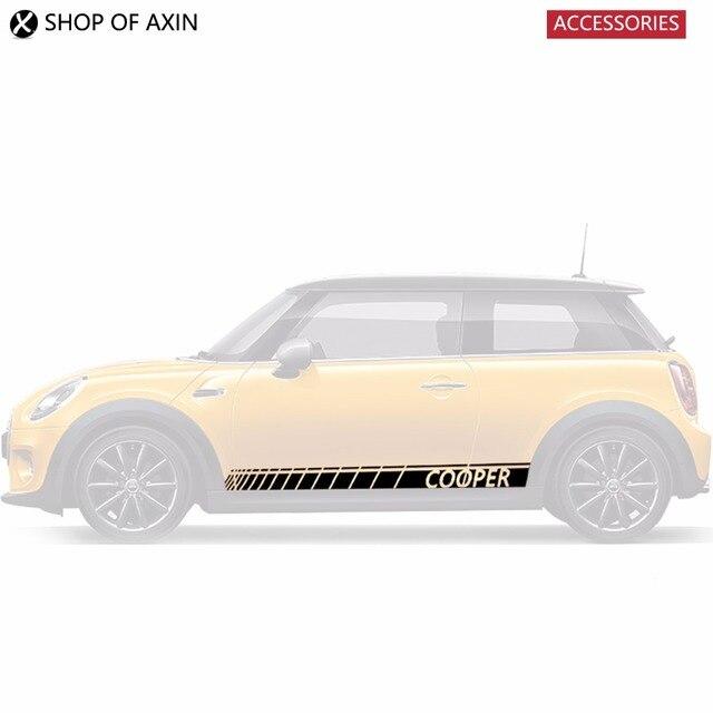 Car Door Rocker Panel Decoration Sticker Graphics For Mini Cooper