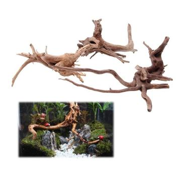 Natural Tree Trunk Driftwood For Aquarium decoration of Fish Tank Plant Decoration Ornament Fish Tank Plant Wood image