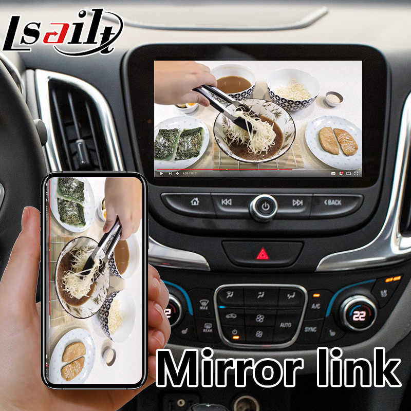 Android 6 0 Auto Interface for Chevrolet Equinox / Malibu / Traverse Mylink  System 2015-2018 , GPS Navigation LVDS Display