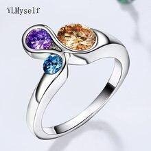 Последняя новинка Красочные Модные ювелирные изделия кольца
