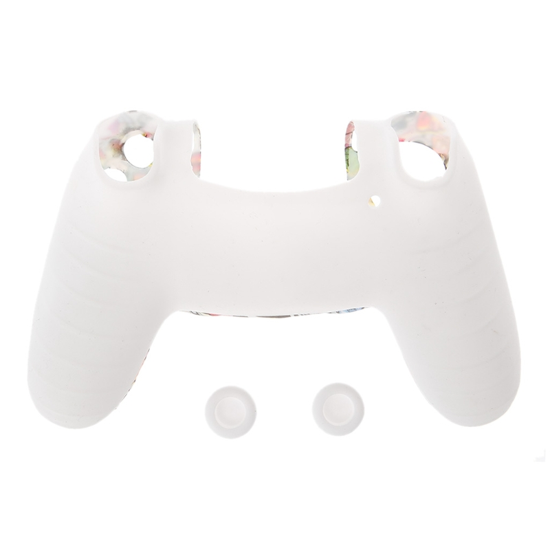Image 5 - Геймпад Защитный чехол силиконовый рукав охранников + 2 сцепление крышки для PS4-in Чехлы from Бытовая электроника