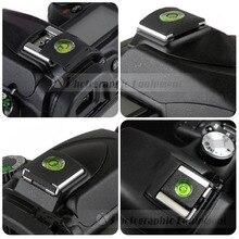 5 ชิ้นกล้อง DSLR แฟลช Protector ฝาครอบ Spirit ระดับสำหรับ Nikon Canon SX60 SX70 1200D 800D 700D 70D 7D D7100 D5600