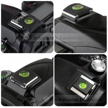 5 pièces DSLR appareil photo Flash chaussures chaudes protecteur couverture niveau à bulle pour Nikon Canon SX60 SX70 1200D 800D 700D 70D 7D D7100 D5600