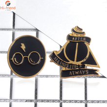 Zweinstein Deathly Hallows Pins Emaille Broches Voor Vrouwen Mannen Jas T-shirt Decoration
