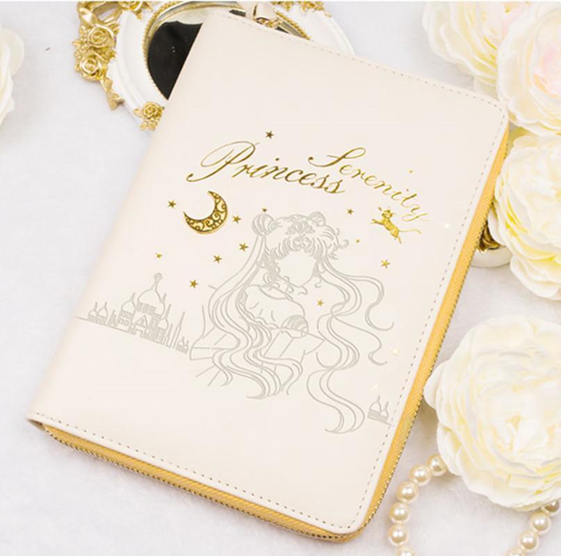 Japan Anime Sailor Moon Tsukino Usagi Princess Serenity General Purpose Notebook Planner Schedule Book Cosplay Gifts