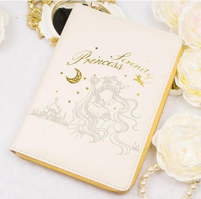Japan Anime Sailor Moon Tsukino Usagi  Princess Serenity General Purpose Notebook Planner Schedule Book  Cosplay Gifts