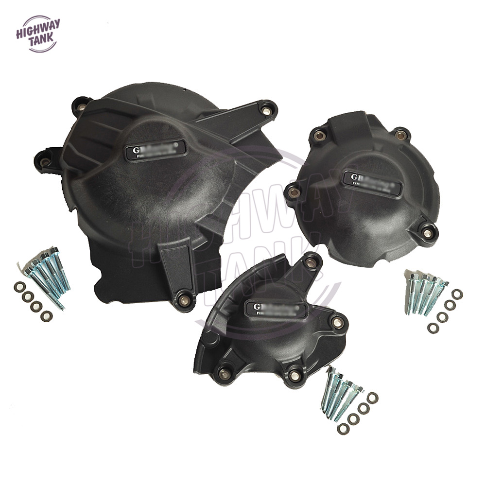 цена на Motorcycles Engine Cover Protection Case for GB Racing For Suzuki GSXR1000 GSXR 1000 2017 2018