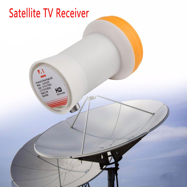 New!! Full HD DIGITAL KU-BAND Universal Single LNB Satellite LNB satellite TV receiver lnb universal ku lnb 1 Output LNBF