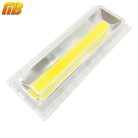 1 Set LED Lens For LED COB Lmaps Include PC Lens Reflector Silicone Ring For MING