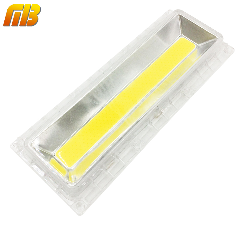 [MingBen] 1Set LED COB Lamp With Lens Reflector For DIY 30W-150W 220V 110V Include: LED COB Chip+PC Lens+Reflector+Silicone Ring