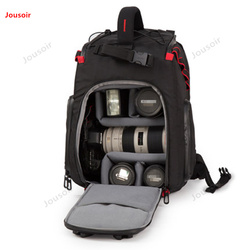 SLR Nylon Camera Bag photography shoulder backpack professional waterproof anti-theft outdoor bag CD50 T03