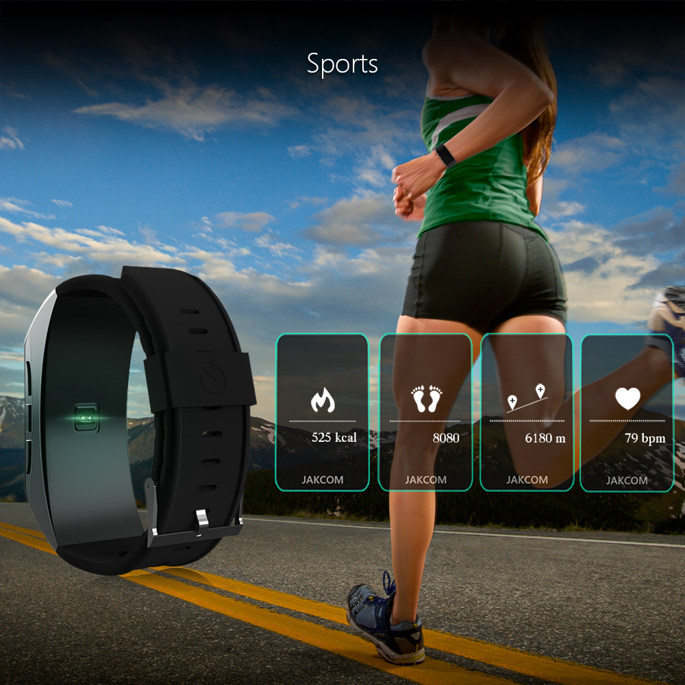 Jakcom B3 Smart Band New Product Of Wristba As Heart Rate Monitor Watch For Xiaomi Mi Band 2 Bracelet Talkband 10