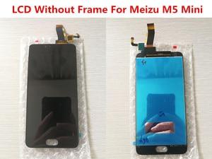Image 3 - AAA جودة LCD + الإطار ل MEIZU M5 شاشة Lcd صغيرة 5.2 بوصة شاشة محول الأرقام شاشة تعمل باللمس لاستبدال M611D/A/Y/H