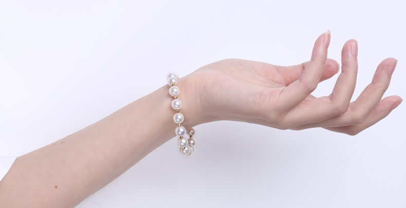 Akoya Pearl Bracelet detail 4