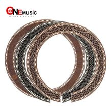 10pcs Classic Guitar BassWood Soundhole Rosette Inlay Guitar Body Project Parts