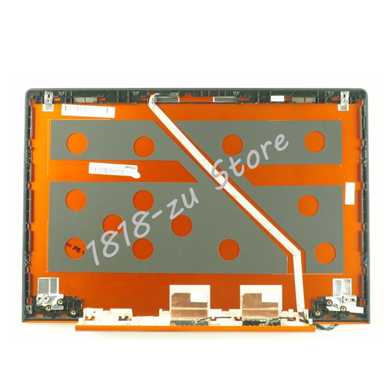 YALUZU new Laptop LCD Top Cover For Lenovo U330P U330 NO Touch LCD Rear Lid Back Cover orange 90203125 3CLZ5LCLV70 top case gzeele new laptop lcd top cover case for lenovo g570 g575 lcd back cover lcd rear lid top case black ap0gm000500