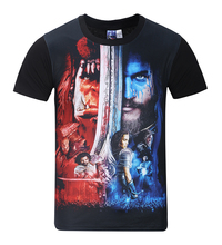 Fashion Brand movie Tshirt 3D Printed WOW Shirts Men/Women Summer short sleeve funny Top Tees