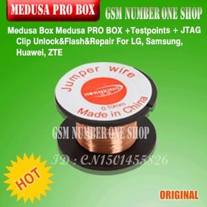 Image 4 - 100% оригинальный новый Medusa PRO Box medusa box + ISP все в адаптере + JTAG Clip MMC для LG для Samsung для Huawei с кабелем Optimus