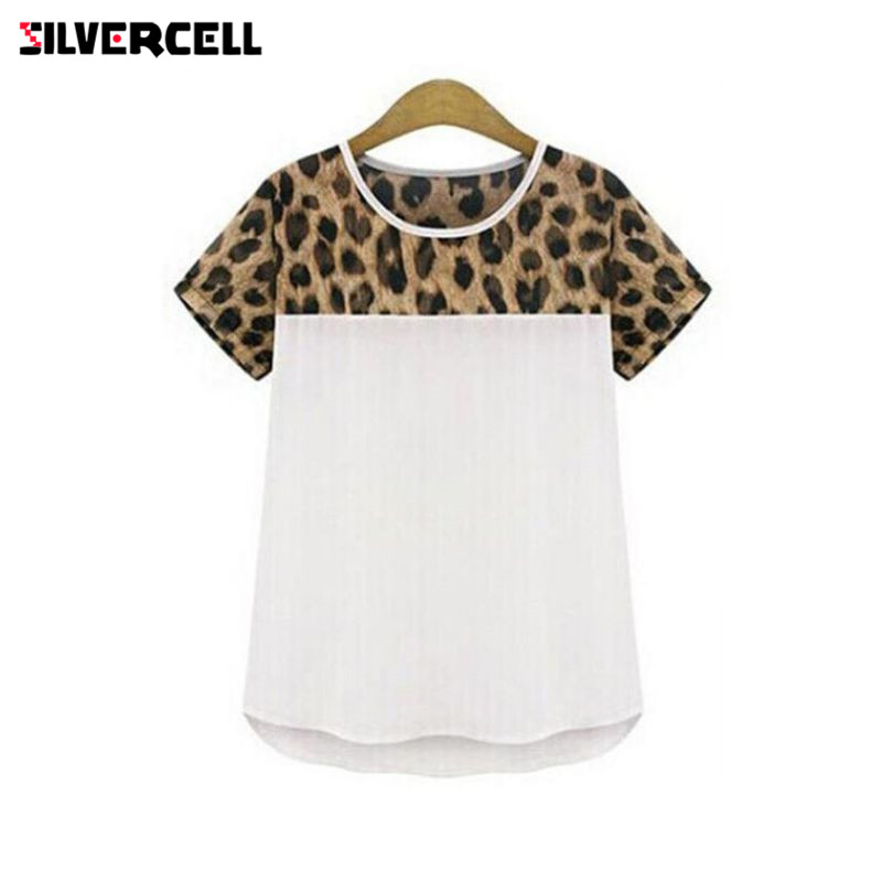 Women's Clothing Honest Women Turtleneck Base Shirt Long Sleeve Leopard Print Tee Blusa T-shirts