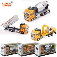 Global Drone JH076 1 48 Engineering Dump Truck Garbage Car Model Trucks Toy Engineering Vehicles Mini