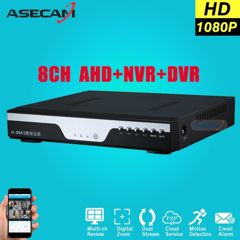 Super 8CH AHD DVR AHD-H Full HD 1080P Video Recorder H.264 CCTV Camera Onvif Network 16 Channel IP NVR Multilanguage With Alarm 2016 cctv 8ch 720p dvr h 264 recorder ahd 8 channel cctv dvr 8 ch 720p network video recorder surveillance security dvr 3g wifi