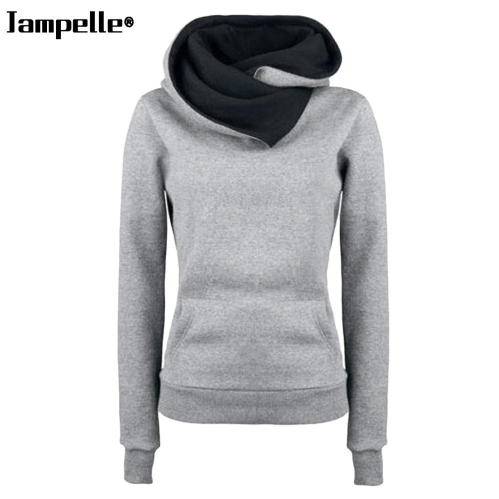 Autumn Winter Cotton Warmth Hooded Pullovers Personality Turn-down Collar Design Thick Hoodies Pullovers Winter Clothes