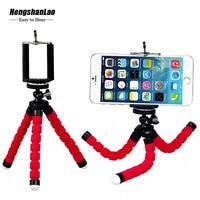 10pcs Portable Tripod for Mobile Phone Holder Flexible Sponge Octopus Tripod for iPhone xiaomi Smartphone Gopro Camera Tripods