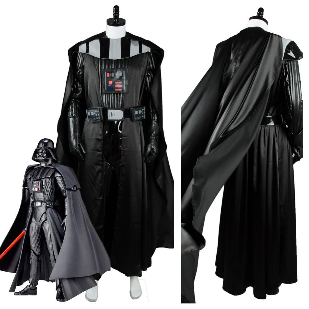 2016 New Movie Star Wars Anakin Skywalker//Darth Vader Cosplay Costume Customized