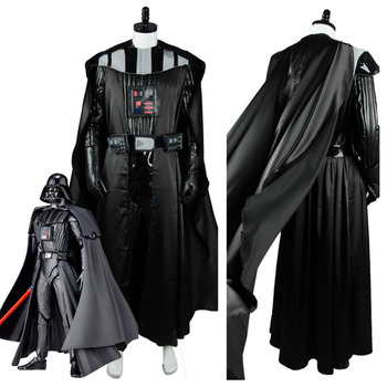 Star Cosplay Wars Costume Anakin Skywalker Darth Vader Cosplay Costume for Adult Men Jedi Halloween Costumes