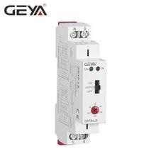 Переключатель лестницы GEYA Автоматическая задержка выключатель света AC230V реле 16A реле управления светом лестница таймер переключатель