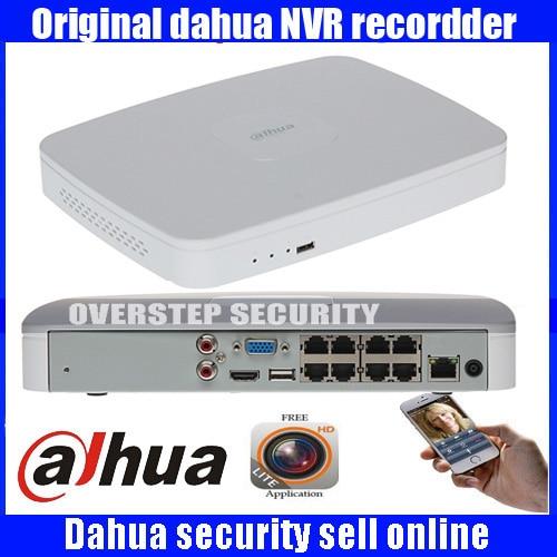 Original Anglais Firmware DAHUA POE DH-NVR4108-8P NVR4116-8P 8ch 16ch NVR avec 8 ports poe Intelligent 1U Mini NVR 1080 P Réseau NVR